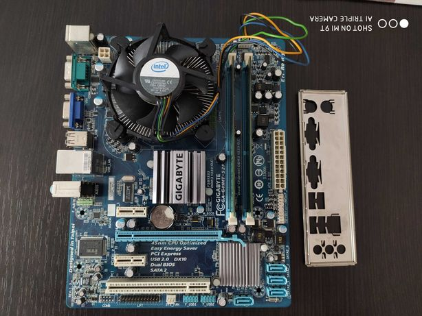 Płyta główna Asus, Quad Q9450, 4GB DDR3