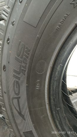 Opony Michelin Agilis Alpin 215/75R16 st 4
