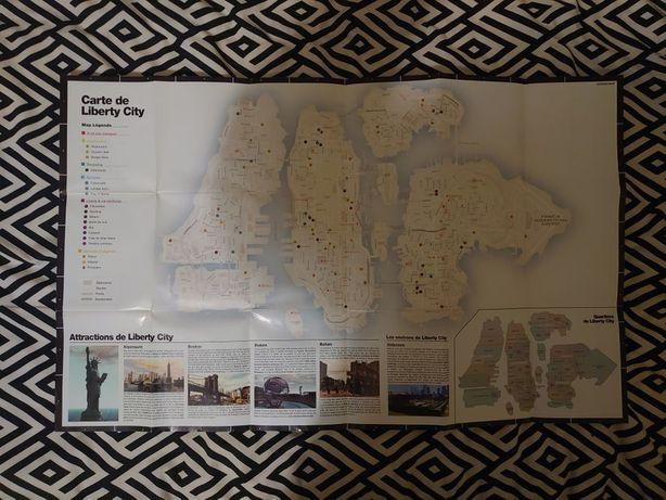 Mapa Grand Theft Auto IV (GTA 4)