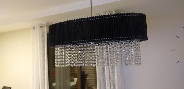 Lampa w stylu glamour