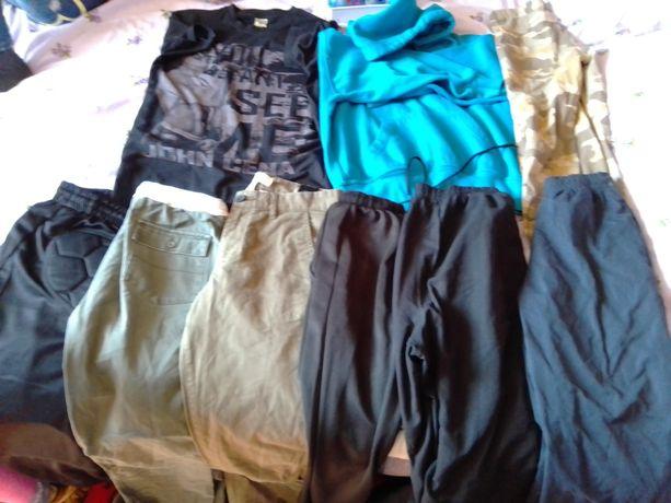 Пакет одягу на хлопчика 140