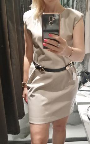 Sukienka ZARA skóra eko Tegoroczny Model