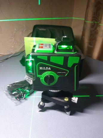 Лазерный уровень 3D HILDA невилир 12 линий. Инструмент