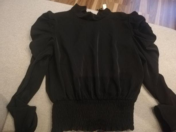 Czarna bluzka rozmiar Uni