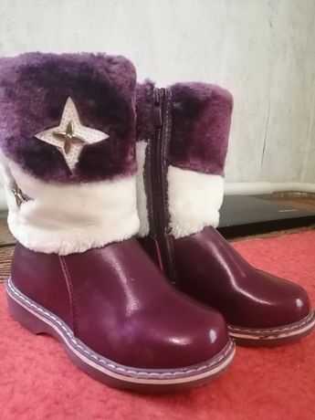 Зимние сапоги. Зимові чобітки. +Подарок - дутики