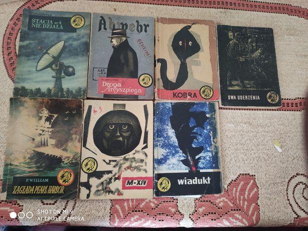 7 książek zolty tygrys