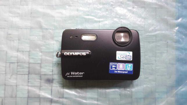 Aparat cyfrowy Olympus mju-550WP z Kartą Pam.