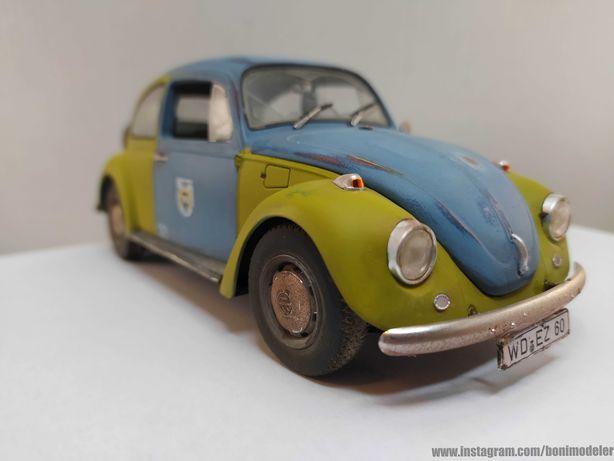 VW Beetle 1968 - Modelo em Escala 1:24