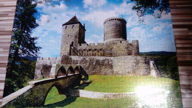 Puzzle 2000 trefl Zamek w Będzinie