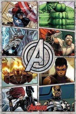 Avengers comics Posters novos