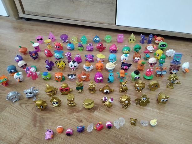 Moshi monster figurki 99szt. Mega zestaw złote srebrne