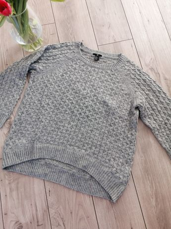 Sweter h&m 38 M szary