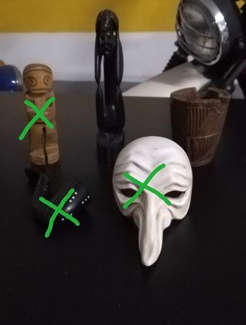 Artesanato Africano e Máscara de Veneza
