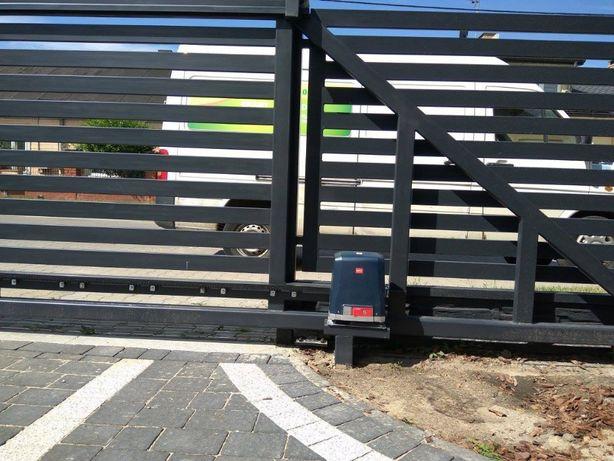 Automatyka bram, montaż napędów do bram garażowych i posesyjnych