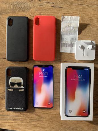 Iphone X, stan idealny 10/10