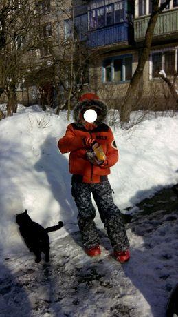 р. 128-134-140, костюм лыжный сноуборд куртка IKKS и штаны Protest, Н