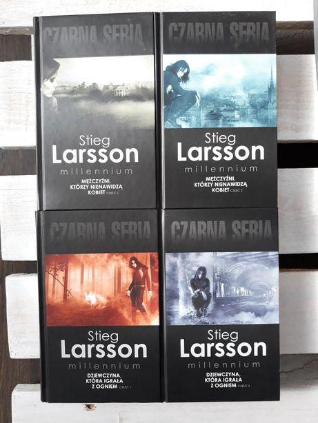 Saga Millennium Stieg Larsson cz. I i II