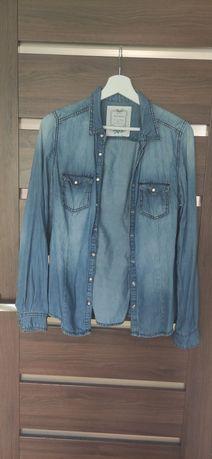 Koszula jeansowa damska, Reserved, 38