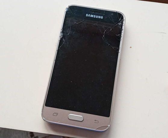 Телефон Самсунг с разбитым экраном Sumsung J120H