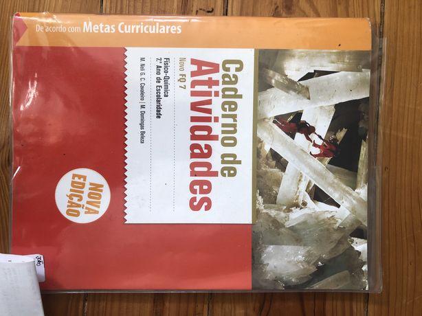 Caderno de atividades- Novo FQ 7