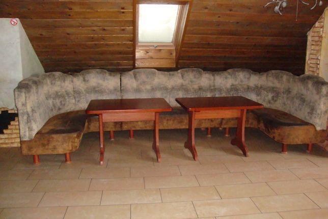 Loża + ława. Długość – 4,2m, 8-10 osobowa
