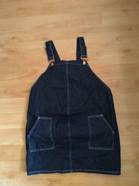 Ciążowa sukienka ogrodniczka New Look 40 L