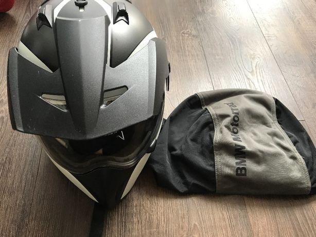Kask BMW, motocyklowy kask z szybką, kask na motor