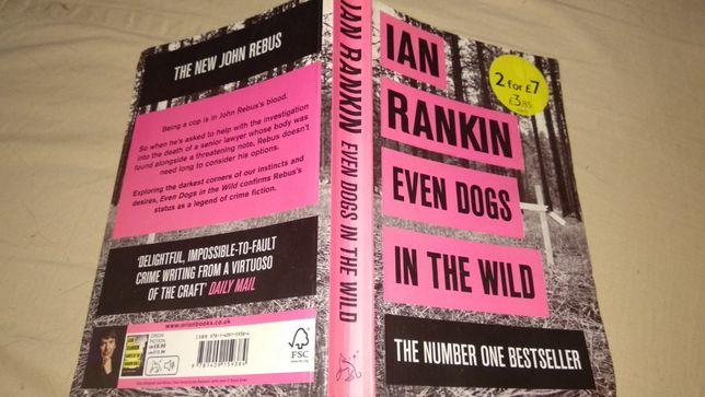 на английском книга Even Dogs In The Wild Ian Rankin Бестселлер