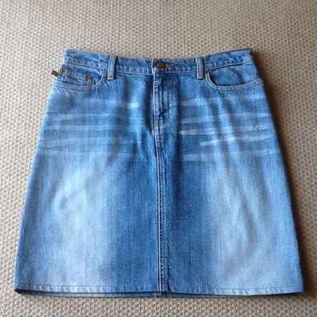 Mini saia Jeans Ralph Lauren como NOVA