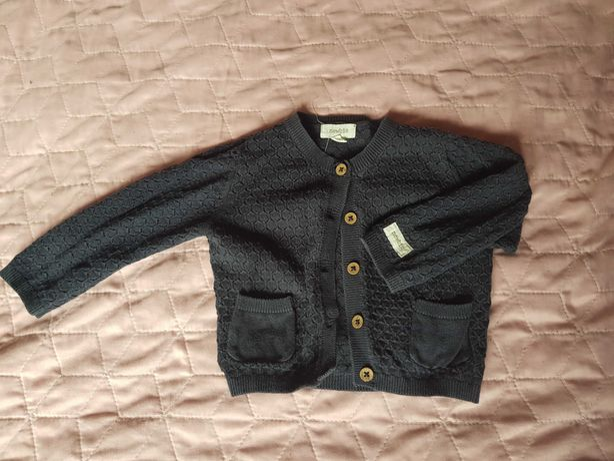Ażurkowy sweterek Newbie