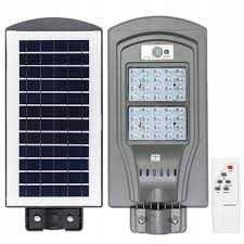 Lampa uliczna LED latarnia solarna z PILOTEM 90W