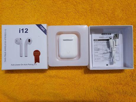Беспроводные наушники i12 (Apple AirPods)