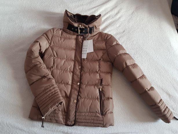 Nowa kurtka zimowa wzór ZARA rozm. M