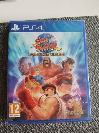 Gra PS4 Street Fighter 30th Anniversary Collection nowa