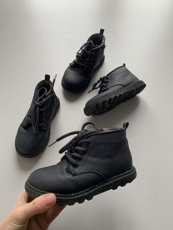 Ботинки zara две пары 15,5 и 16,5см по стельке