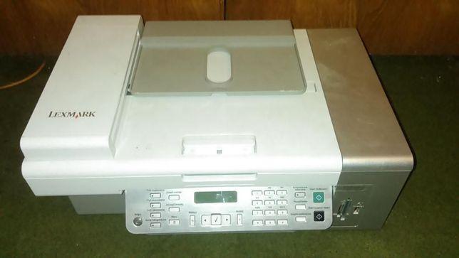 Urządzenie wielofunkcyjne-drukarka Lexmark X5470,fax,czytnik kart