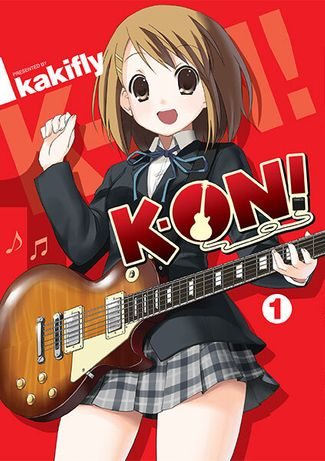 K-ON! manga tomy 1-3