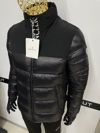 New!!!Крута чоловіча куртка відомого бренду Монклер,якісна,тепла)