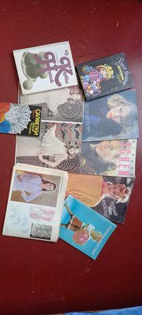 Продам журнали і книги по вязанню