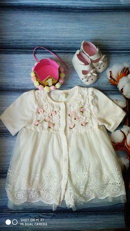 Платье для девочки на год