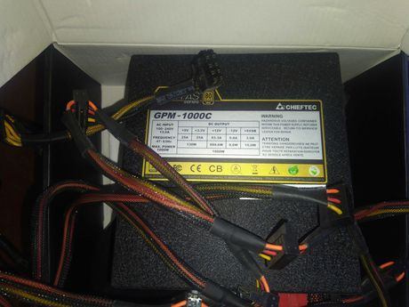 БП для майнинга Chieftec GPM-1000C GPS-750S GOLD DPS G 1200W Platinum