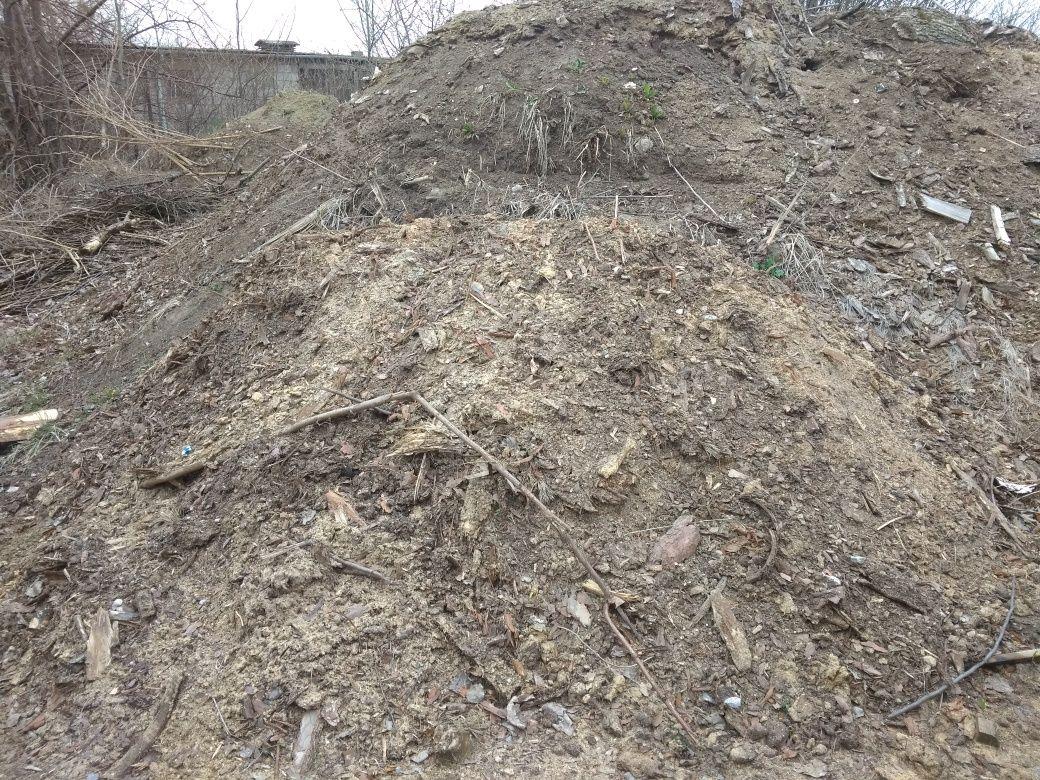 Ziemia gruz ogrodowa z kora czarnoziem