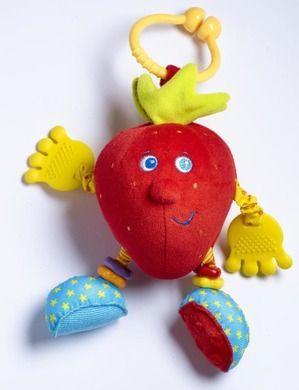 Zabawka Zawieszka tiny love mój pierwszy owoc truskawka Sally