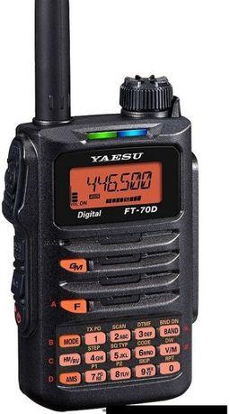 Amatorski radiotelefon YAESU FT - 70 D System Fusion odblokowany JAPAN