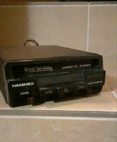 Odtwarzacz kaset samochodowy hanimex lata 70 te