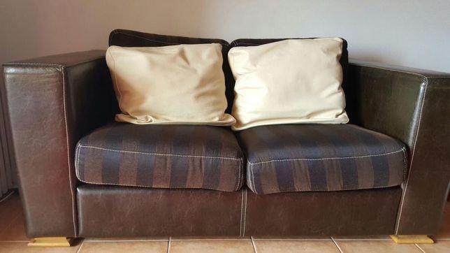 Sofa de pele