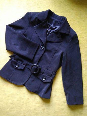 Піджак чорний на дівчинку 7 років шкільна форма