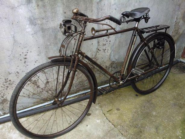 Bicicleta pasteleira inglesa muito antiga, Phillips roda 28. RARA