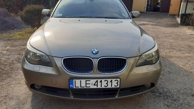 BMW E60 3.0 B+G automat zamiana