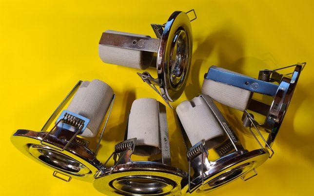 Потолочный врезной светильник 5 шт brilum r-39r